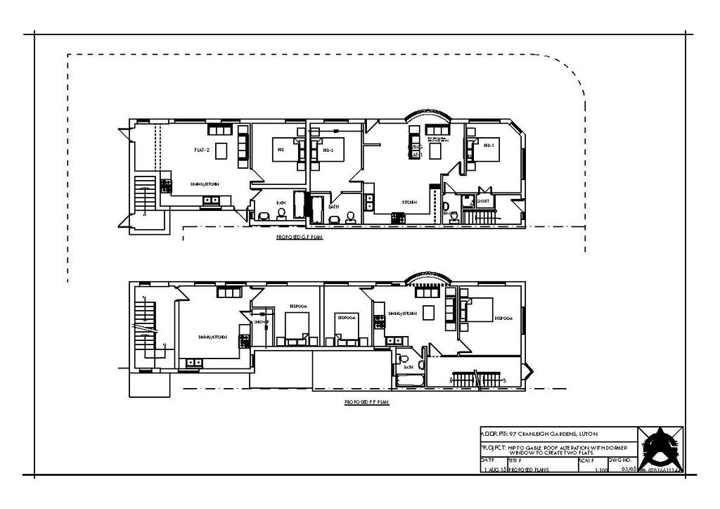 Floorplan 3 of 3: Cranleigh Gdns 97 Dormer Plng Proposed Plans.jpg