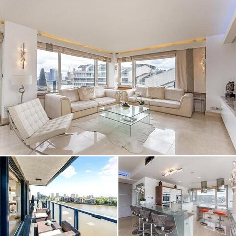 3 bedroom apartment for sale - The Belvedere, Chelsea Harbour, Chelsea, London, SW10