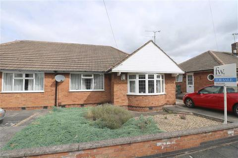 2 bedroom bungalow for sale - Foxhunter Drive, Oadby, Leicester, Leicestershire