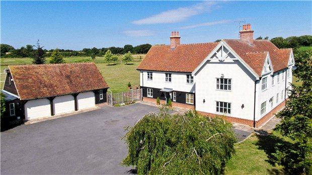 6 Bedrooms Detached House for sale in Marks Hall Lane, White Roding, Dunmow, Essex