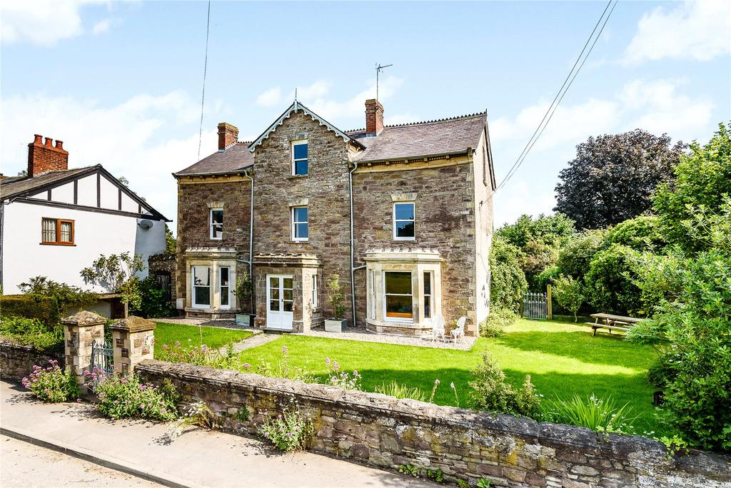 6 Bedrooms Detached House for sale in Kingsland, Leominster, Herefordshire