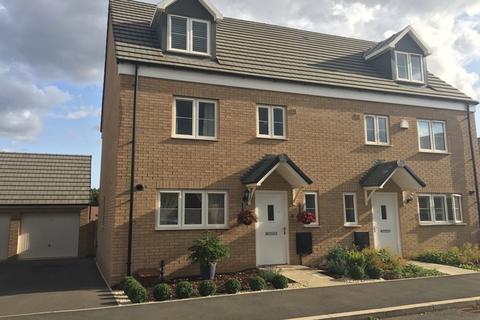 4 bedroom semi-detached house for sale - Dunkley Way, Harlestone Manor, Northampton, NN5