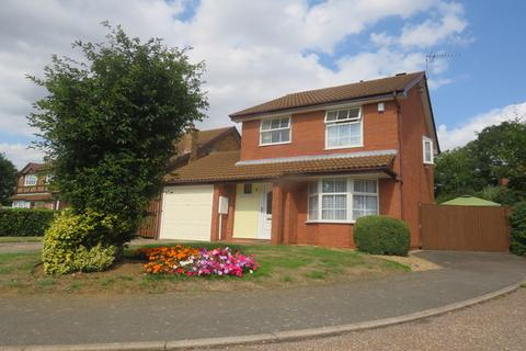 3 bedroom detached house for sale - Marjoram Close, East Hunsbury, Northampton, NN4