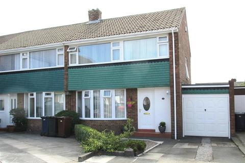 3 bedroom semi-detached house for sale - Abbotside Place, Newcastle upon Tyne