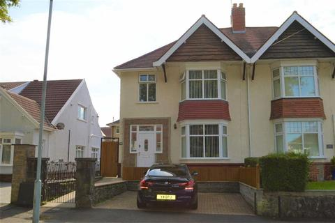 3 bedroom semi-detached house for sale - Glanmor Park Road, Swansea, SA2