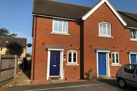 2 bedroom end of terrace house to rent - Avocet Gardens, Stowmarket