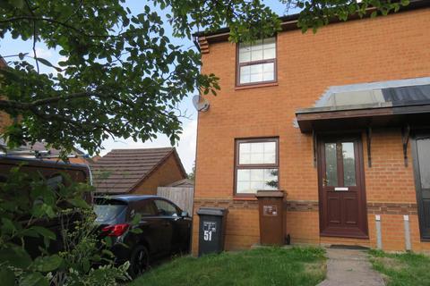 2 bedroom semi-detached house to rent - Downsway, East Hunsbury, Northampton