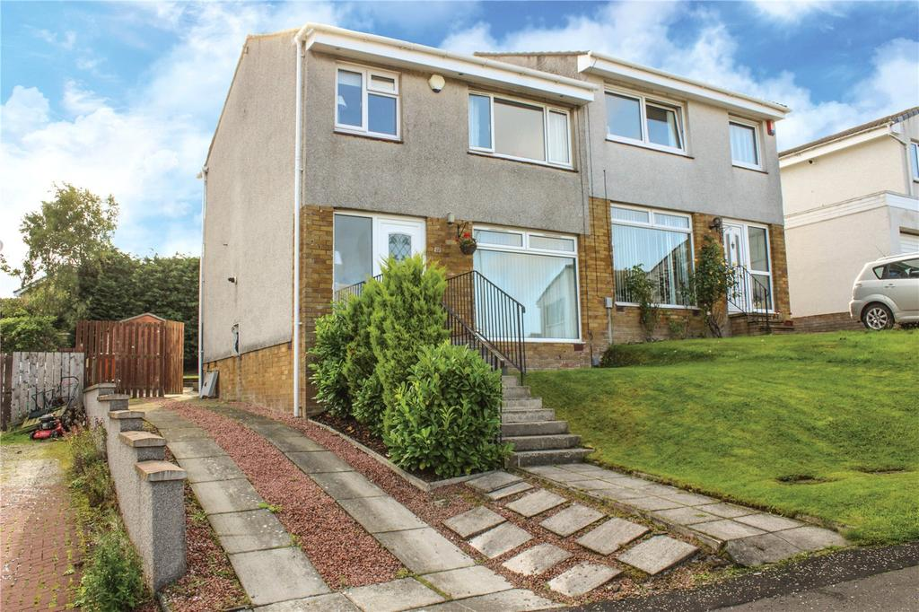 Elmwood Gardens, Lenzie, Glasgow 3 bed semi-detached house for sale ...