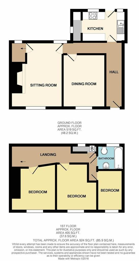Floorplan: The Od Cottage Knowle print.JPG