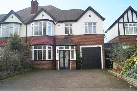 4 bedroom semi-detached house to rent - Stratford Road, Hall Green, Birmingham B28