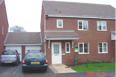 3 bedroom semi-detached house to rent - Burberry Avenue, Hucknall, Nottingham NG15