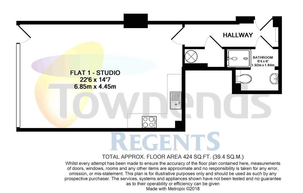 Floorplan 1 of 2: Flat 1