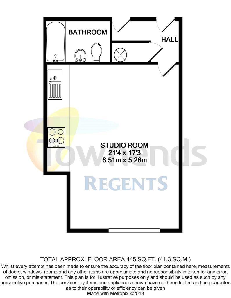 Floorplan 2 of 2: Flat 34