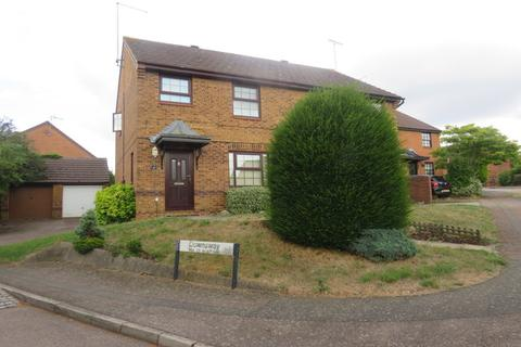 3 bedroom semi-detached house for sale - Downsway, East Hunsbury, Northampton, NN4