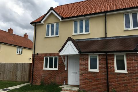 3 bedroom semi-detached house for sale - Silvertree Way, Chedburgh, Bury St Edmunds IP29