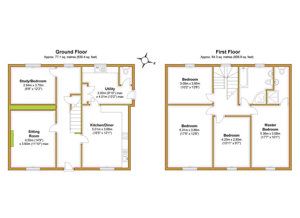 Floorplan 3 of 3: Violet Barn, All...