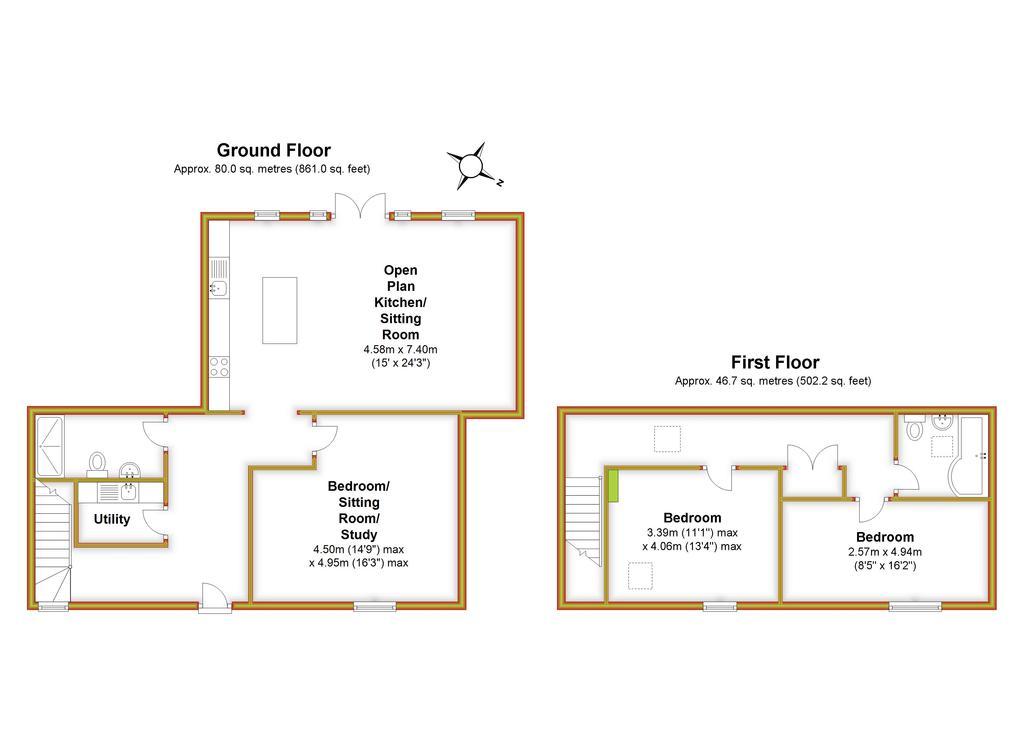 Floorplan 3 of 3: Lavender Barn, All
