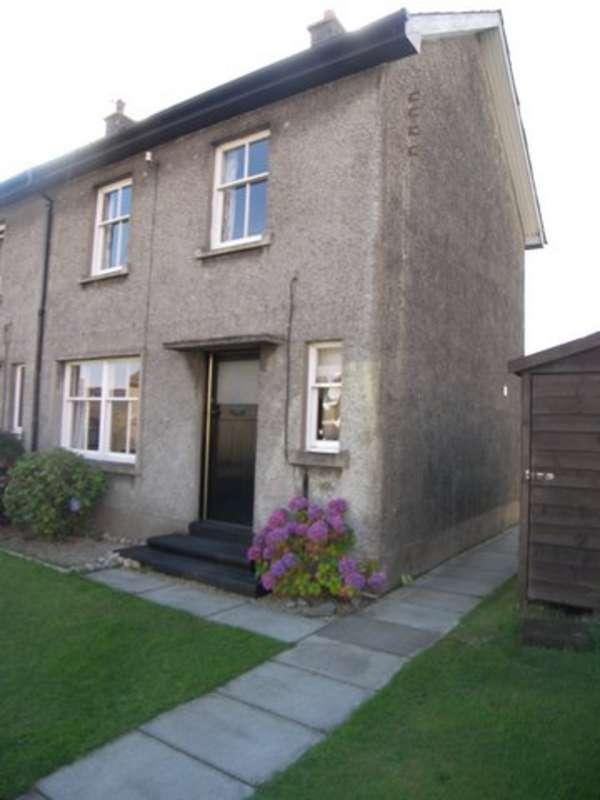 2 Bedrooms End Of Terrace House for sale in 21 Hillview Place, Brodick, Isle of Arran, KA27 8BD