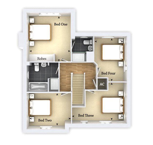 Floorplan 1 of 2: Berrington F/F