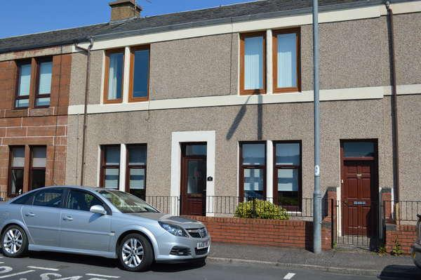 1 Bedroom Flat for sale in 8 Hillside Street, Stevenston, KA20 3HZ
