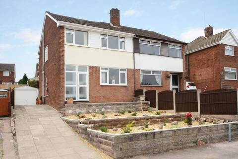 3 bedroom semi-detached house for sale - Pemberton Drive, Meir Heath, ST3 7JU