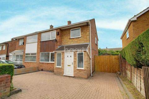 3 bedroom semi-detached house for sale - Silverdale Drive LE48NL, Thurmaston, Leicester