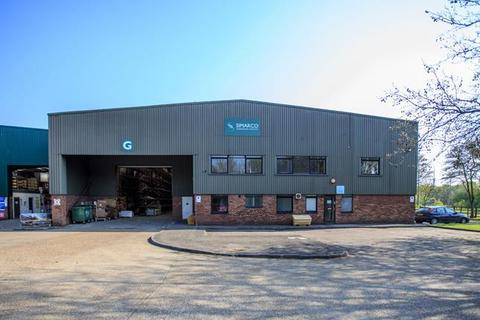 Warehouse to rent - Unit G, Eastways, CM8