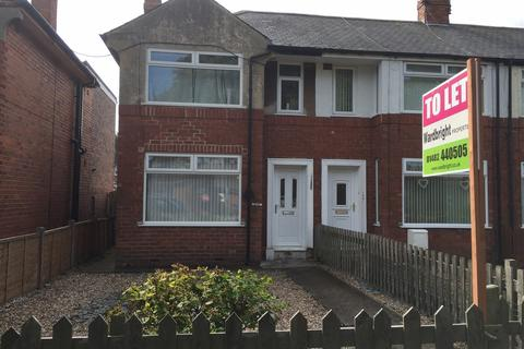 2 bedroom end of terrace house to rent - 1039 Spring Bank West, Hull HU5