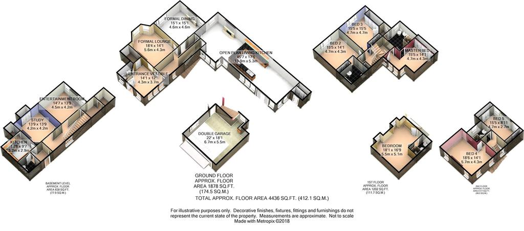 Floorplan 2 of 7: 3 D Floor Plan