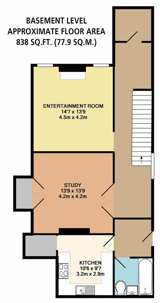 Floorplan 4 of 7: Basement Level