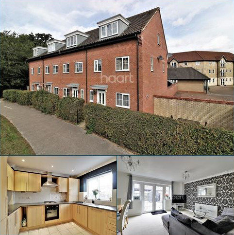 4 bedroom end of terrace house for sale - Spindle Drive, Thetford, IP24 2UQ