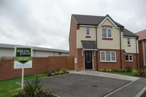 3 bedroom semi-detached house to rent - 20 Coracle Close, Sundorne, Shrewsbury, SY1 4SQ