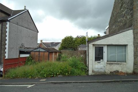 Plot for sale - Worcester Street, Brynmawr, NP23
