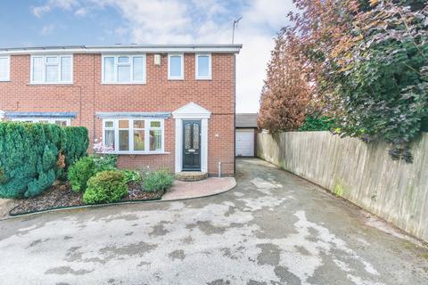 3 bedroom semi-detached house for sale - Cryersoak Close, Monkspath
