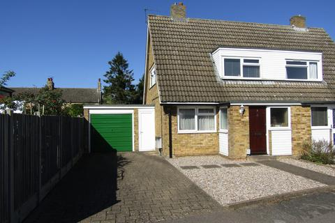 2 bedroom semi-detached house for sale - Chase Close, Church End, Arlesey, SG15 6UT