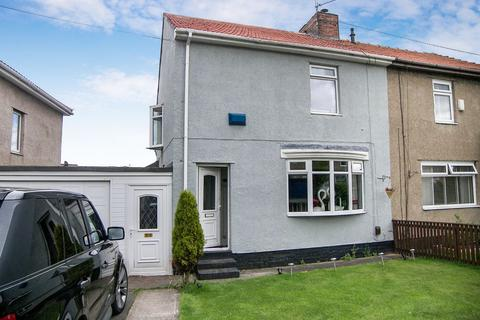 2 bedroom semi-detached house for sale - Park Crescent, Shiremoor, Newcastle upon Tyne, Tyne & Wear, NE27 0LH