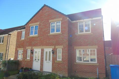 3 bedroom semi-detached house for sale - Loansdean Wood, Morpeth, Northumberland, NE61 2FB