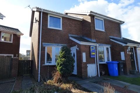 2 bedroom semi-detached house for sale - Callaly Close, Pegswood, Morpeth, Northumberland, NE61 6XL