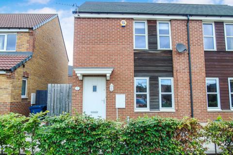 2 bedroom semi-detached house for sale - Lysander Drive, Walker, Newcastle upon Tyne, Tyne and Wear, NE6 3UF