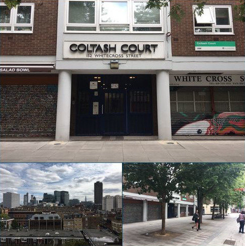 Studio to rent - Coltash Court 152 White Cross Street, London, London EC1Y 8QP