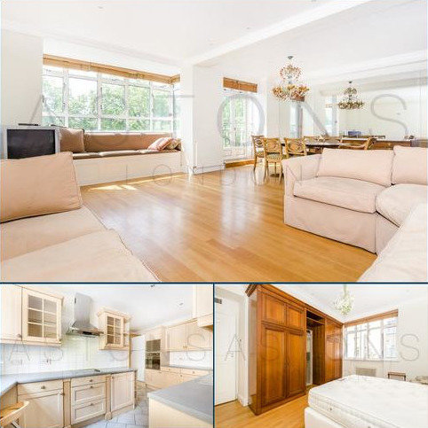 4 bedroom apartment to rent - Lancaster Gate, London, W2