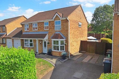 3 bedroom semi-detached house for sale - Lambourn Drive, Bushmead,  Luton