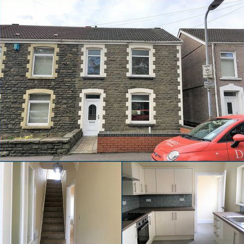 3 bedroom end of terrace house for sale - Armine Road, Swansea, SA5
