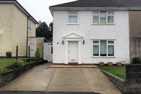 3 bedroom semi-detached house for sale - Coedwig Place, Swansea, SA5