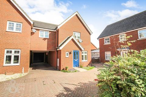 3 bedroom link detached house for sale - Mountbatten Drive, Sprowston, Norwich