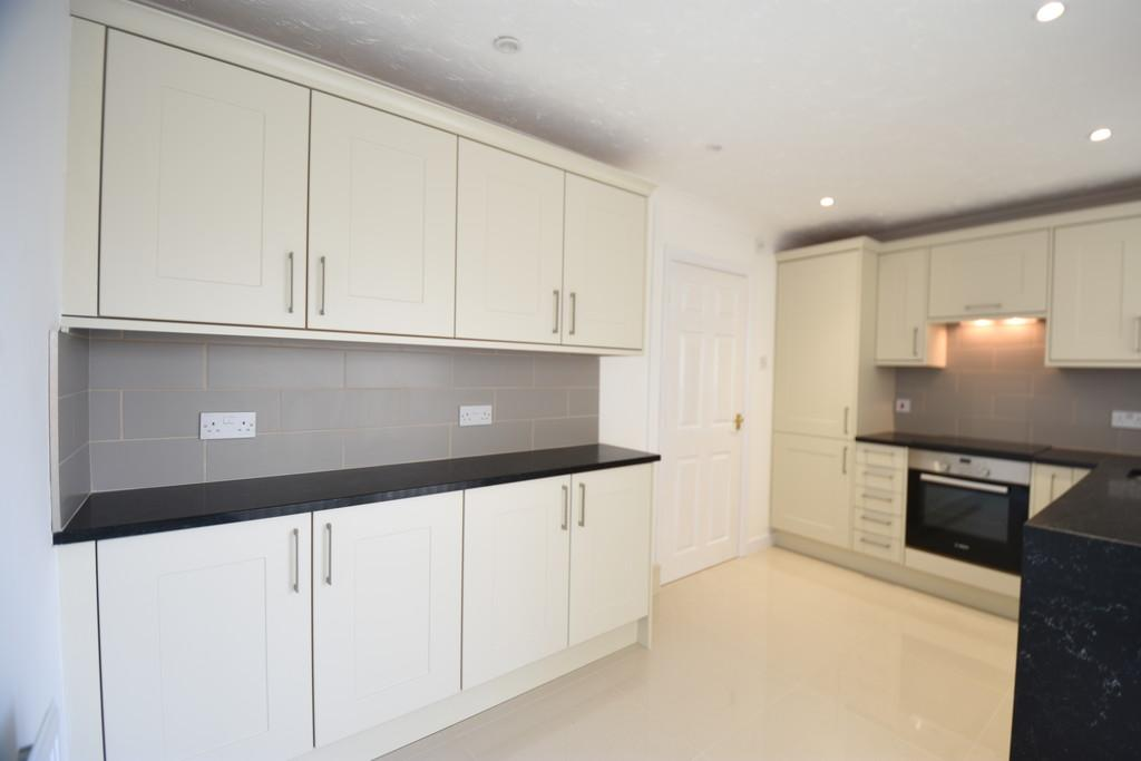 Modern newly fitted kitchen