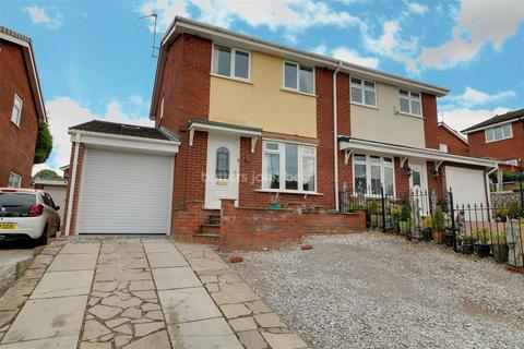 3 bedroom semi-detached house for sale - Powy Drive, Kidsgrove