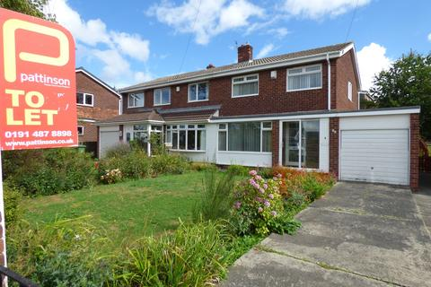 3 bedroom semi-detached house to rent - Dartmouth Avenue, Low Fell, Gateshead, Tyne and Wear, NE9 6NX