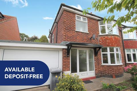 3 bedroom semi-detached house to rent - Middlethorpe Grove, York, YO24 1LE