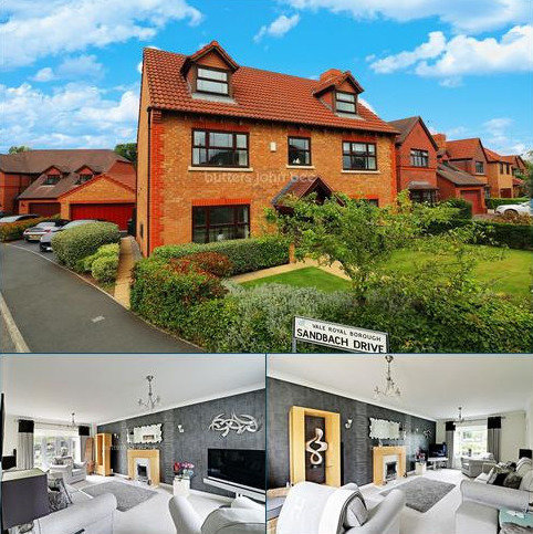 5 bedroom detached house for sale - Sandbach Drive, Northwich